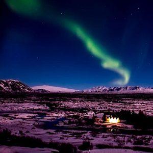 Aurora Boreal Especial Sul da Islândia
