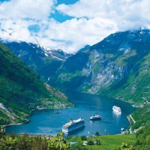 O Báltico e os Fjords Noruegueses