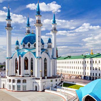 Capitais Russas e Tatarstan