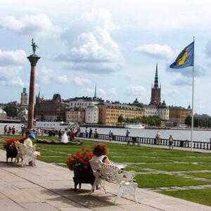 O Báltico e Estocolmo