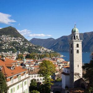 As Montanhas Suíças e o Ticino Mediterrâneo