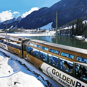 Picos Nevados e o Golden Pass Line
